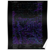 USGS Topo Map Oregon Williams Prairie 282104 1965 24000 Inverted Poster