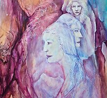 Triple Goddess by Kaye Bel -Cher