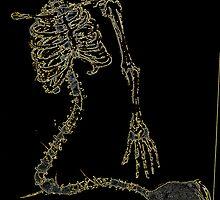 Skeleton Knit by Lorraine  Dowler
