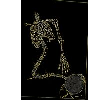 Skeleton Knit Photographic Print