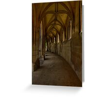 Gothic pathway 2 Greeting Card