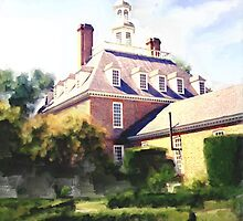 The Governor's Mansion by 2HivelysArt