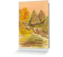 fall freedom Greeting Card