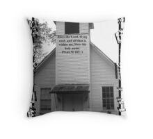 Sherwood Chapel Throw Pillow