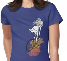 Autumn Bicycle Womens Fitted T-Shirt
