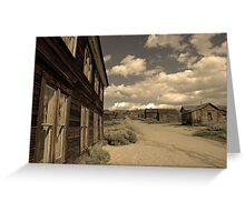 Bodie California 6 Greeting Card