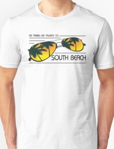 I'm Taking My Talents To South Beach Shirt Unisex T-Shirt