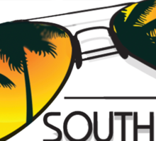 I'm Taking My Talents To South Beach Shirt Sticker