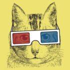 Cat Geek Shirt by 785Tees