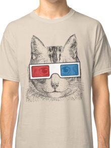 Cat Geek Shirt Classic T-Shirt