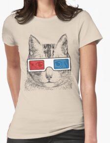 Cat Geek Shirt Womens T-Shirt