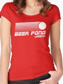 Beer Pong Legend Vintage Shirt Women's Fitted Scoop T-Shirt