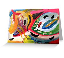 abstract 25 Greeting Card