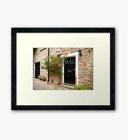 Village Cottage. Framed Print