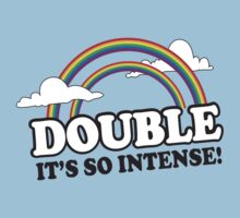Funny Double Rainbow Shirt by 785Tees