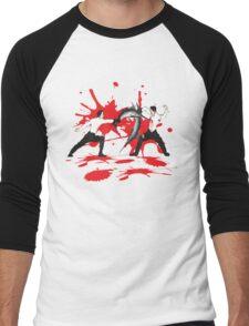 Sword Fight Graphic Shirt Men's Baseball ¾ T-Shirt