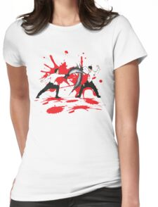 Sword Fight Graphic Shirt Womens Fitted T-Shirt