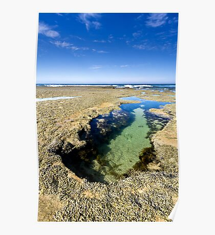 Lonsdale Low Tide Poster