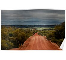 Country Road ~ Chapman Valley ~ Western Australia Poster