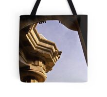 Curves and Cuts Tote Bag