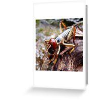 Weta works Greeting Card