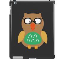 Nerdy owl  iPad Case/Skin