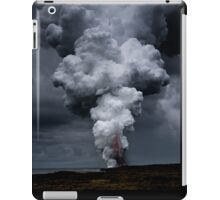 Kilauea Volcano at Kalapana 3a iPad Case/Skin