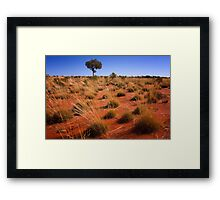 Outback Tree - Northern Territory Framed Print