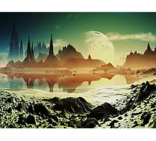 Ruined City on Alphamemnon Photographic Print