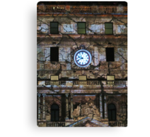 Customs House Clock Canvas Print