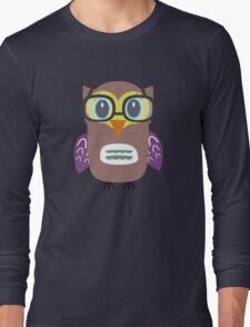 Nerdy owl  Long Sleeve T-Shirt