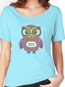 Nerdy owl  Women's Relaxed Fit T-Shirt