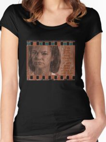 nurse ratched the wicked bitch Women's Fitted Scoop T-Shirt