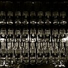 Hanging bottles, Melbourne Central, Melbourne by saifster