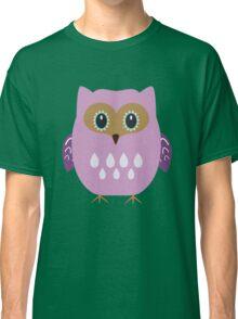 Pink owl  Classic T-Shirt