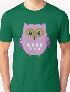 Pink owl  Unisex T-Shirt