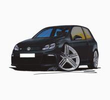 VW Golf R Black T-Shirt
