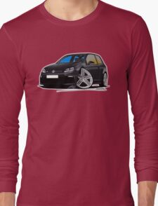 VW Golf R Black Long Sleeve T-Shirt