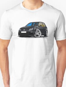 VW Golf R Black Unisex T-Shirt