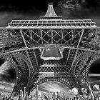 Eiffel detail by Victor Pugatschew