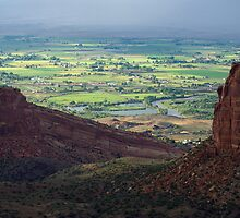 View of Fruita and the Grand Valley by Klaus Girk