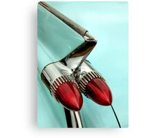 1959 Cadillac, Some Fin And Bullets Canvas Print