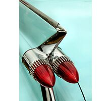 1959 Cadillac, Some Fin And Bullets Photographic Print
