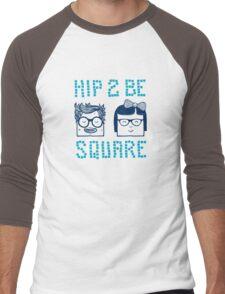 Hip 2 Be Square Men's Baseball ¾ T-Shirt