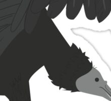 Black Vulture Sticker