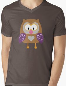 Ugly owl  Mens V-Neck T-Shirt