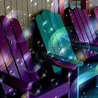 Bubbly Adirondacks by Debbie Robbins