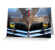 1941 Studebaker  Commander Coupe Greeting Card
