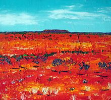 Our Outback  by gillsart