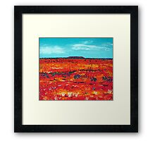 Our Outback  Framed Print